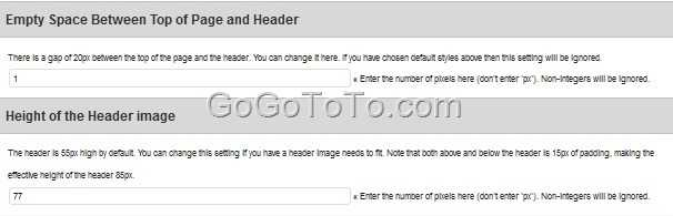 how to change header image in wordpress cant find header