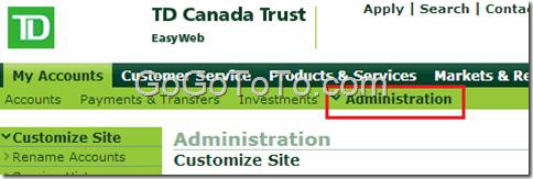 Change TD Bank Online Account Password – Go Find To Get