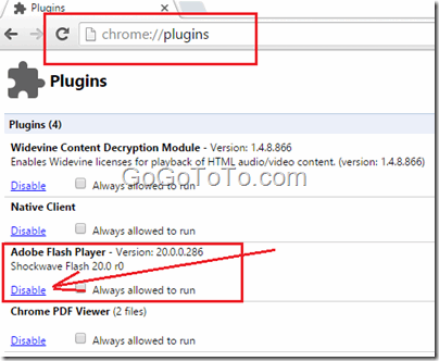 Why Flash Video Does Not Work on Chrome ? – Go Find To Get