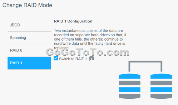 Setup RAID Volume on WD My Cloud EX2 Ultra NAS system – Go Find To Get